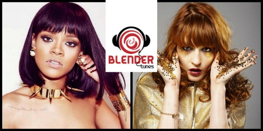 Rihanna and Florence Welch